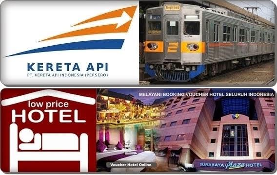 RESERVASI TIKET KERETA API & HOTEL