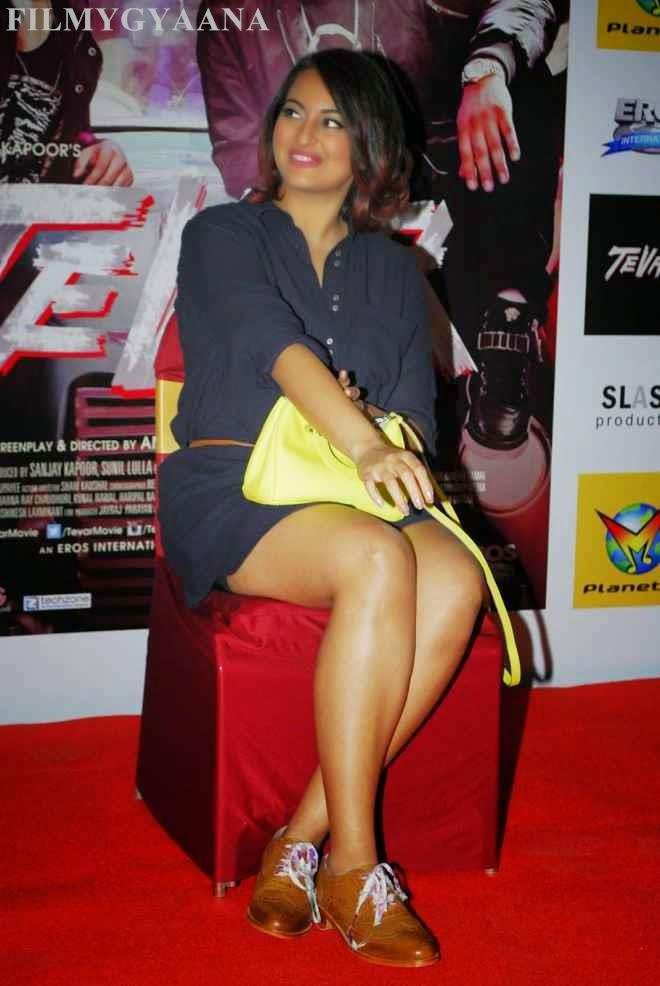 sonakshi sinha hot tever promotion photos