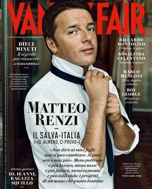 Matteo Renzi copertine