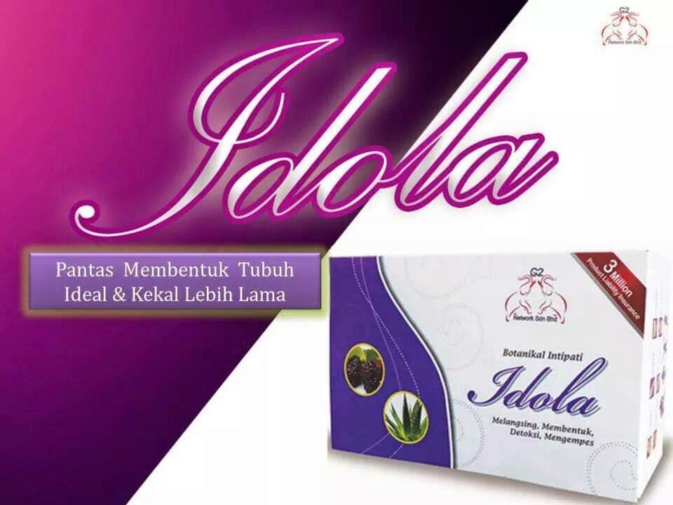 IDOLA G2 - Supplemen Slim dan Kurus Tanpa Kesan Sampingan