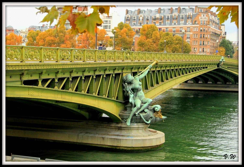 Le pont Mirabeau, Paris