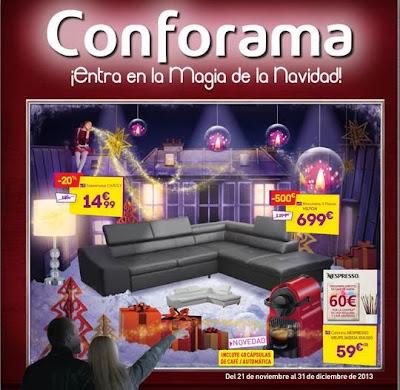 Catalogo conforama navidad 2013 muebles y electro - Conforama electro ...