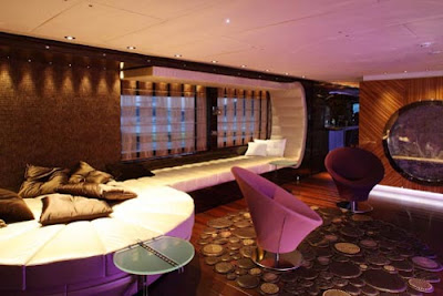 Contemporary Yacht Interior
