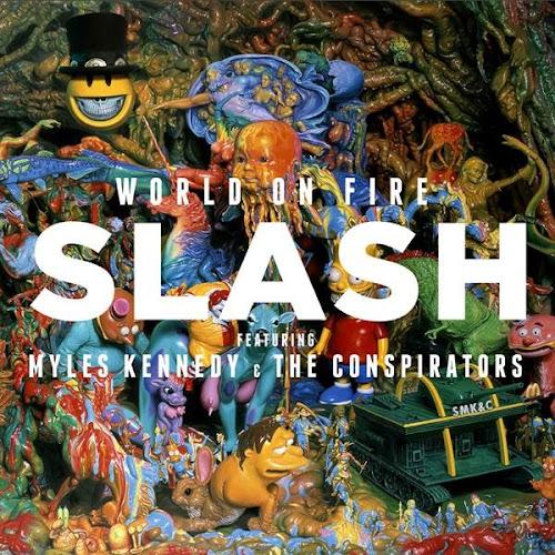 Música #5 - World on Fire, novo álbum do guitarrista Slash, é uma verdadeira aul