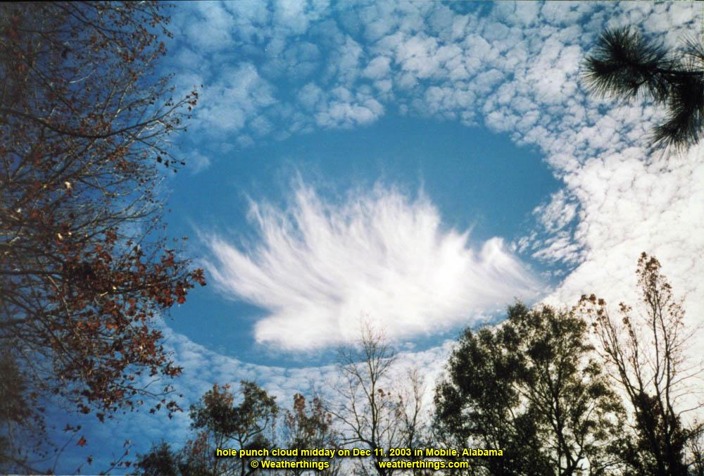 strange cloud