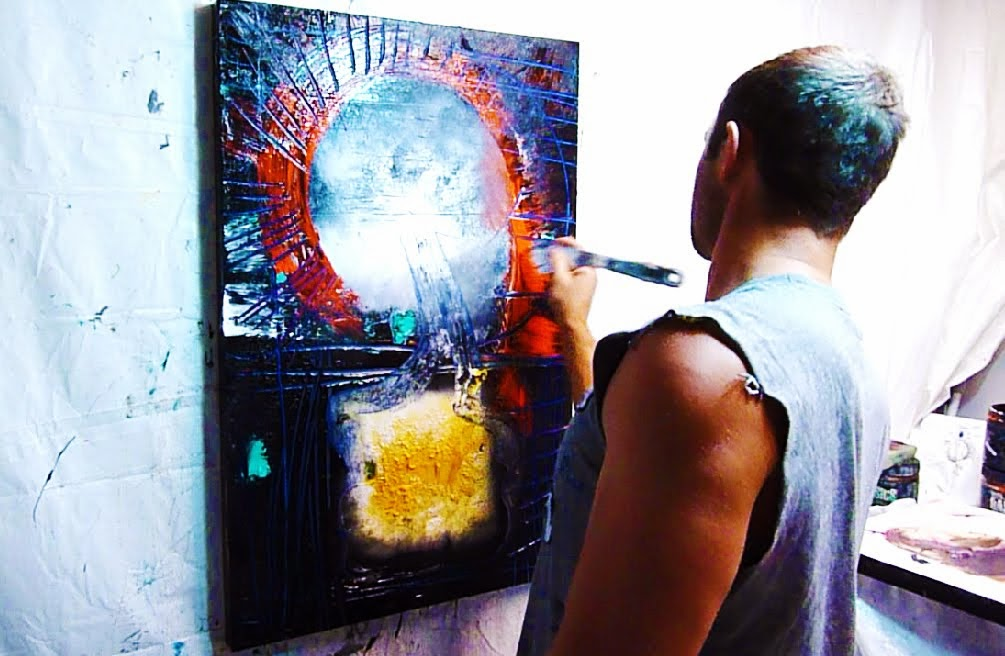 Learn how to create amazing abstract paintings