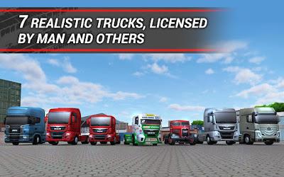 Game TruckSimulation 16 MOD APK Full Terbaru Gratis