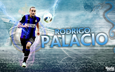 Wallpapers Rodrigo Palacio Inter Milan 2012-2013
