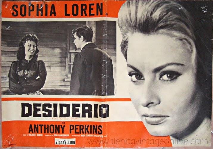 Poster de película antigua. Carteles de cine antiguos sophia loren