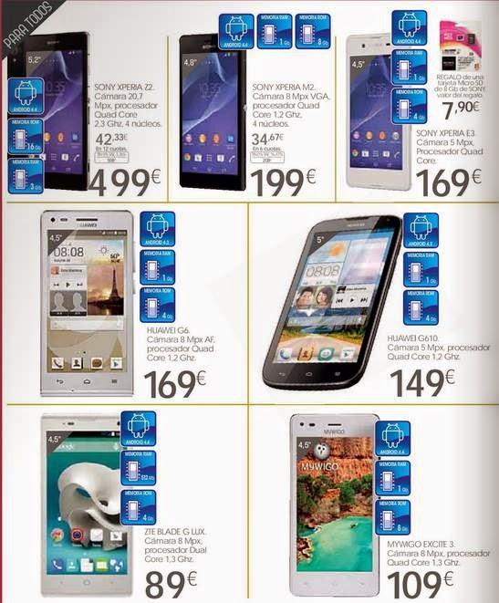 smartphone Navidad 2014 Hipercor
