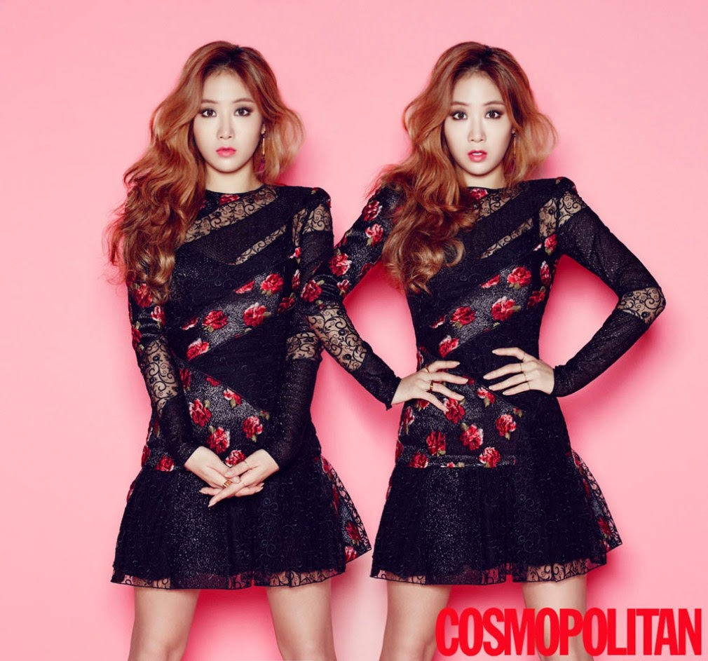Soyu SISTAR - Cosmopolitan Magazine December Issue 2014