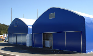 industrijski skladiščni šotori