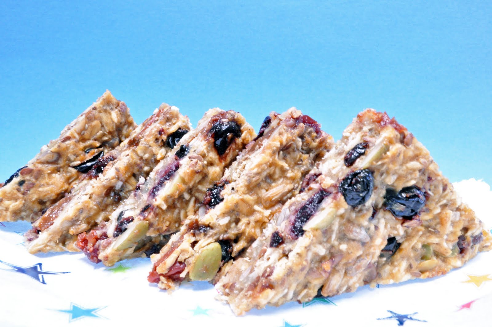 All That's Left Are The Crumbs: Fruit and Seed Tri Bars