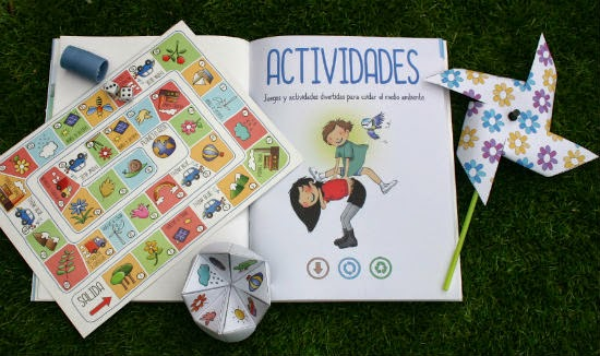 llibre infantil el planeta azul activitats