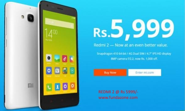 ideaz xiaomi redmi 2 at cheapest price in india rs5999