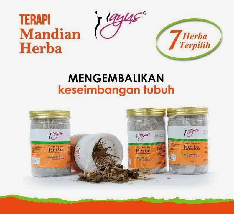 Terapi Mandian Herba