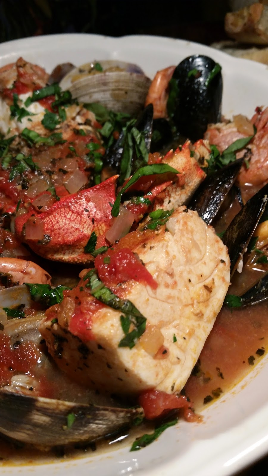 Thibeault's Table: New Year's Eve - Cioppino