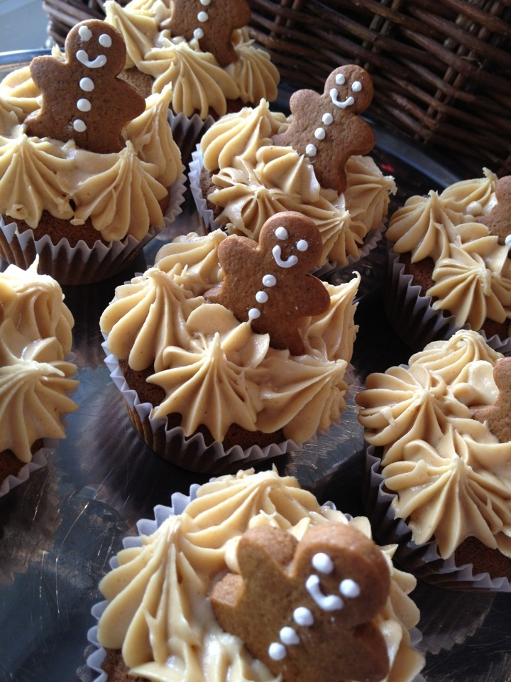 Recipes for You: Gingerbread Cupcakes
