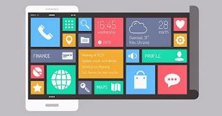 cara merubah tampilan android ke windows phone