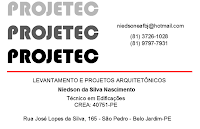 LEVANTAMENTO E PROJETOS ARQUITETNICOS