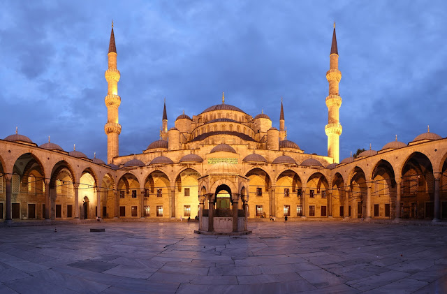 ve may bay gia re di istanbul-Blue Mosque