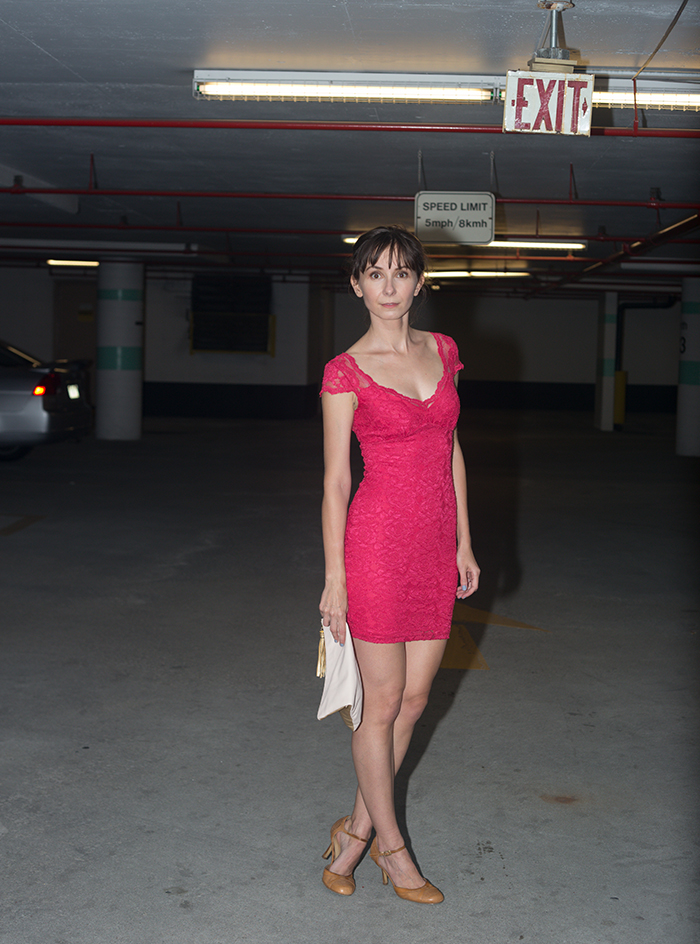 TIFF-2015-Actra-Party-Hot-Pink-Bodycon