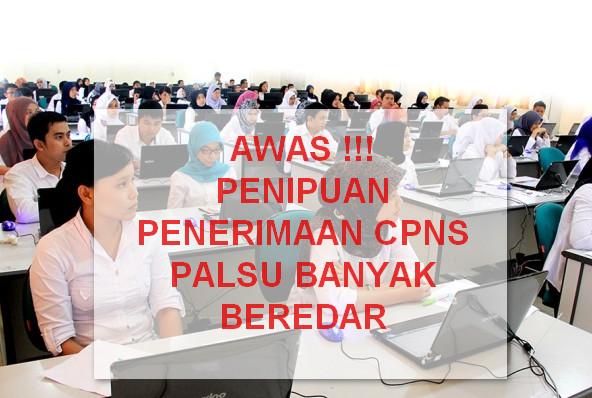 Hati-hati dengan kabar Penerimaan CPNS