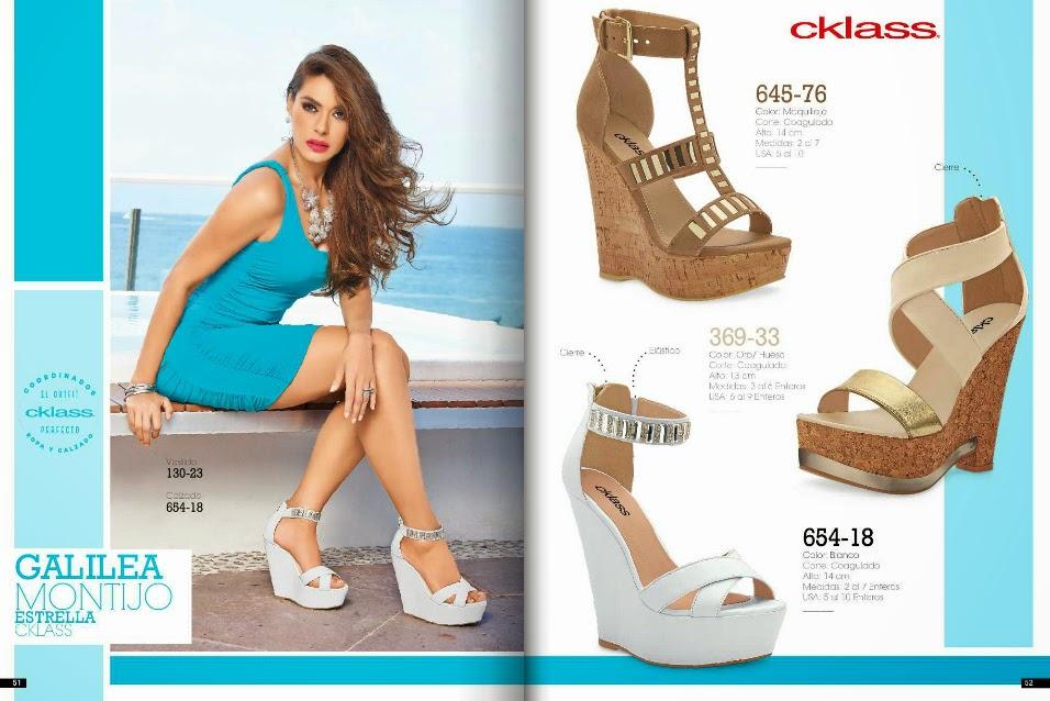 Catalogo Cklass calzado dama primavera verano 2015