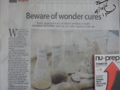 Nu-Prep 100 Freeze Dried ' Beware of Wonder Cures ' US, EU patent long jack