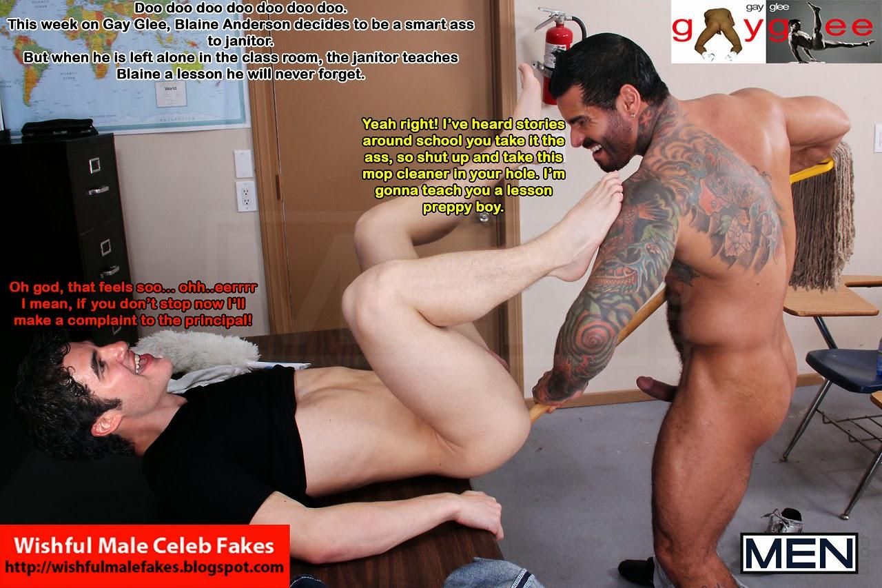 Jensen Ackles Fake Nudes Pretty sinners paradise: fakes: darren criss (5)