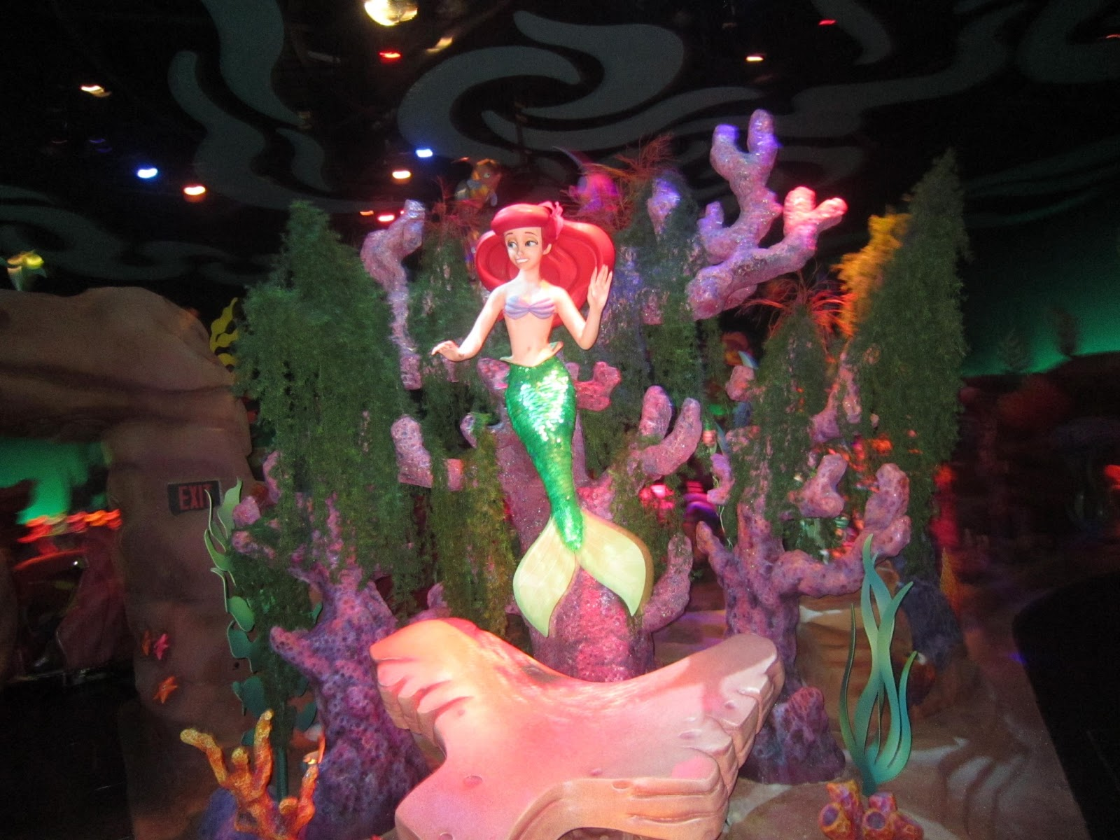 Magic Kingdom, Walt Disney World, Ariel, The Little Mermaid, Orlando, Florida, rides, family vacation