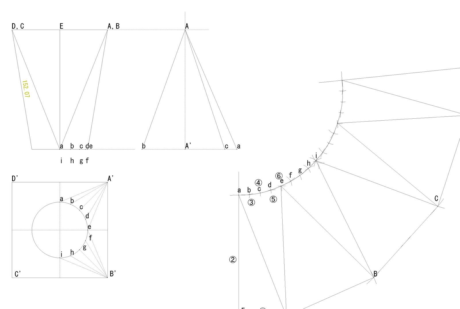 板金板取展開図 - 機能紹介 | CADTOOL板金展開9