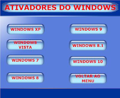 ATIVADORES DO WINDOWS