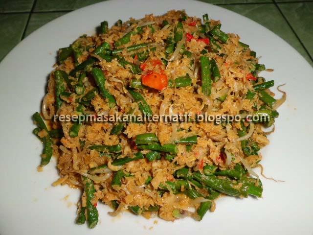 Resep Sayur Daun Singkong Udang Rebon