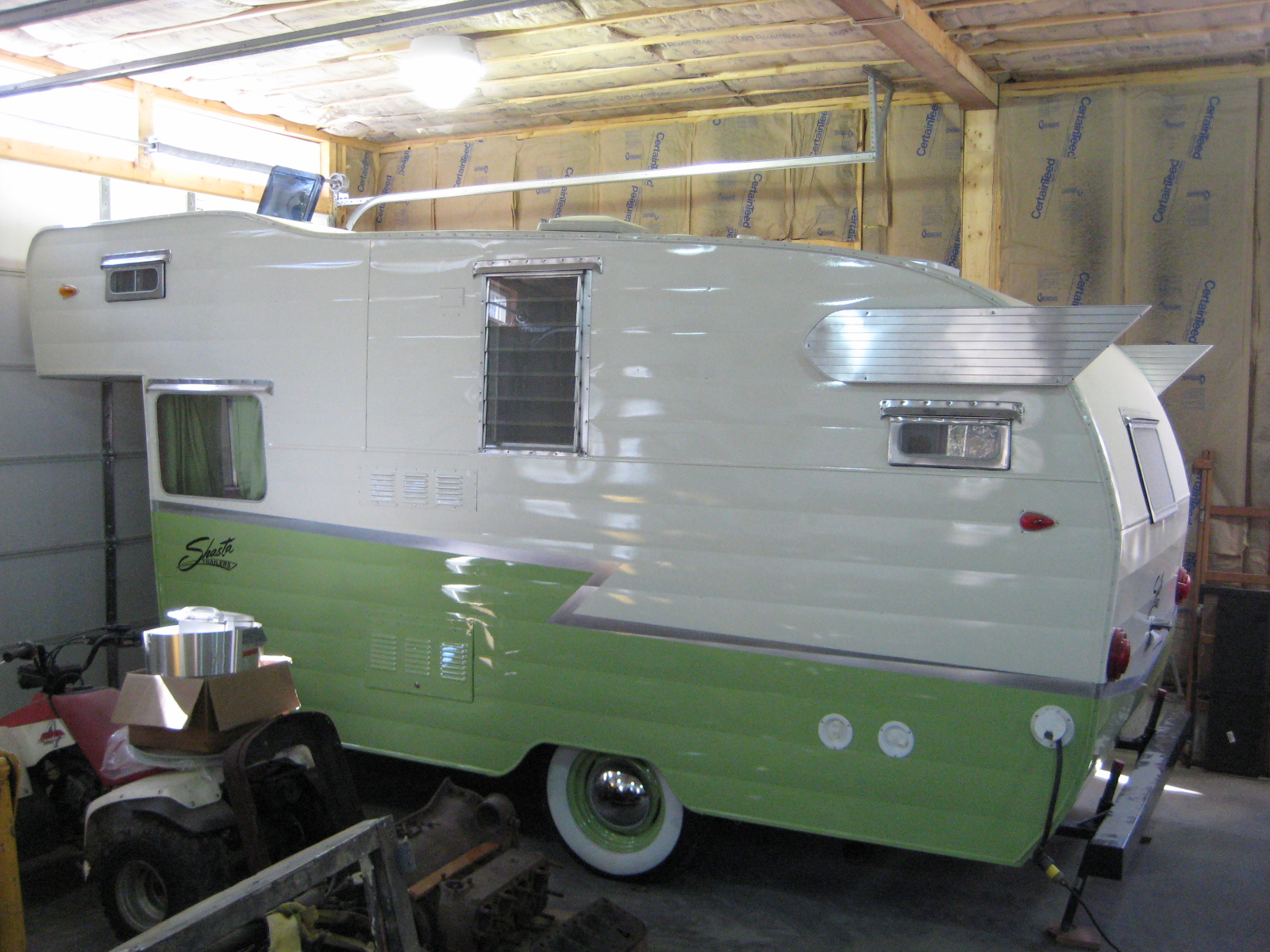 Shasta Trailer Wiring Harness Airflte Library Camper From Nasty To Shasty Wings