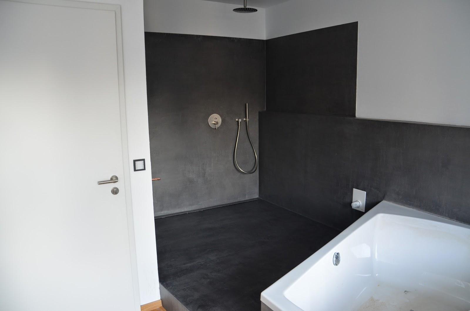 beton cire oberfl chen in beton look beton badezimmer beton cire dusche fugenlos 57462 olpe