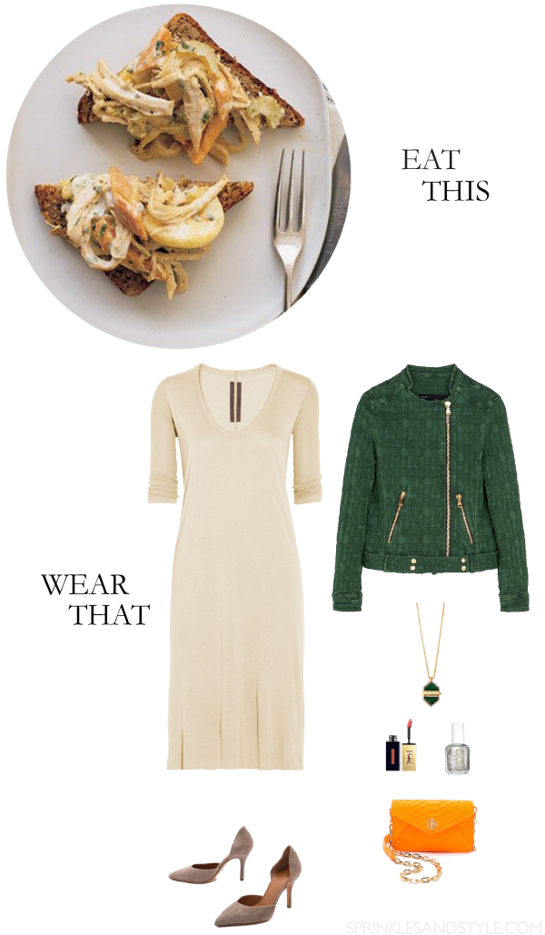 Sprinkles and Style || Eat This, Wear That: Turkey and Sweet Potato Hash