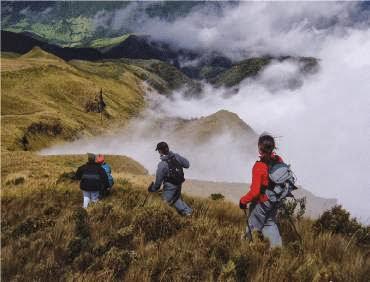 Turismo en Ecuador Fuya Fuya Cerro Negro Mojanda