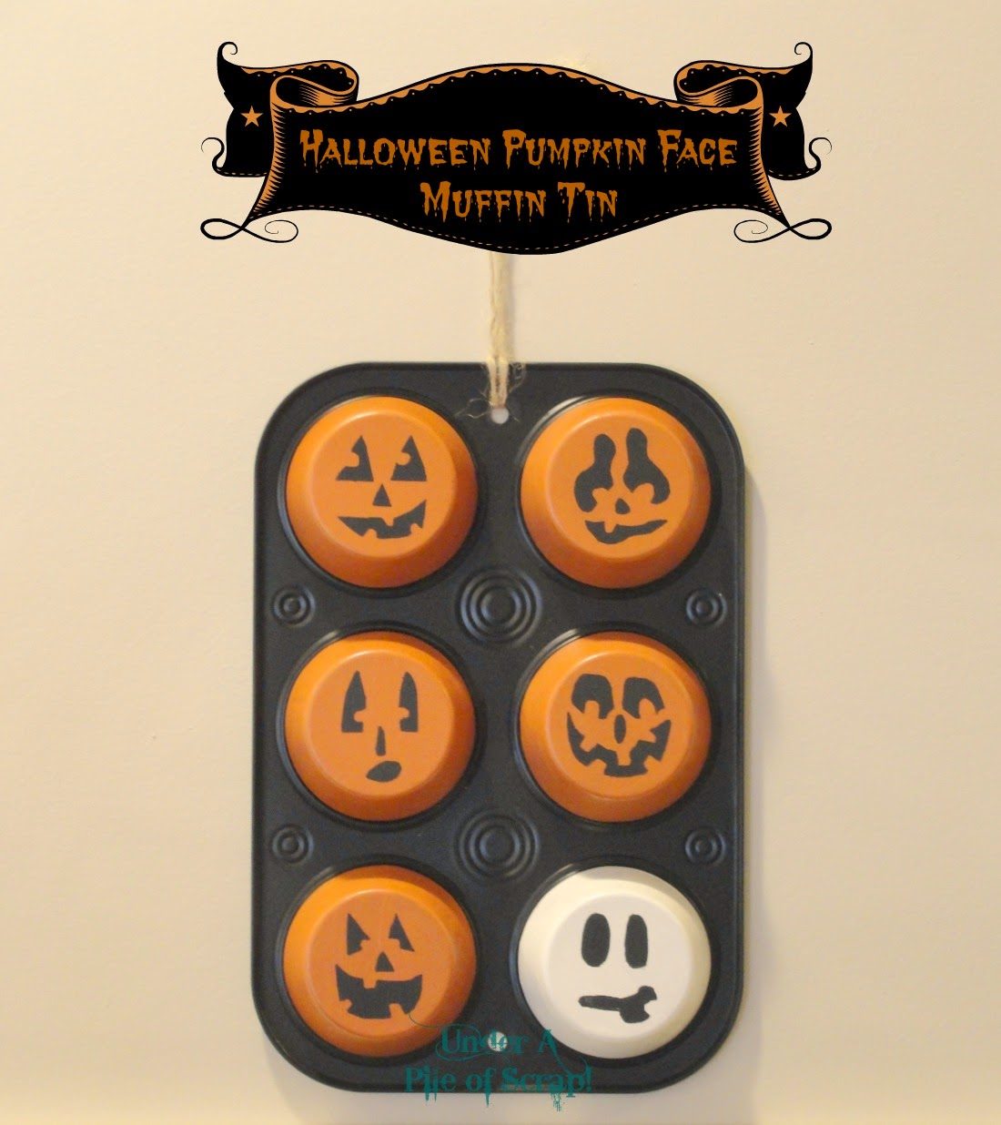 halloween, muffin tin, October, ghost, pumkin, pumpkins, pumkins,