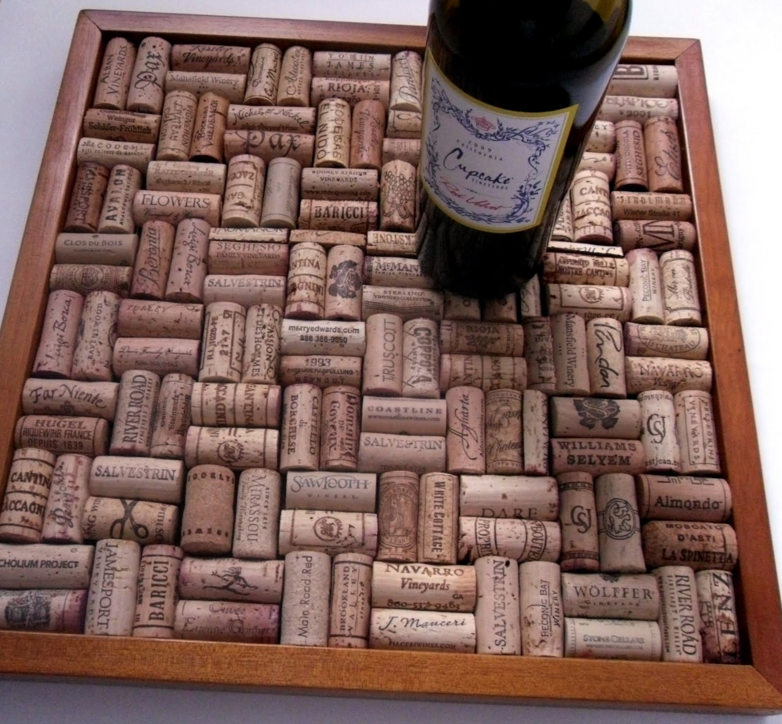 Sweet magnolia way what to do with all of those wine corks - What to do with wine corks ...