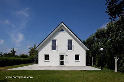 Casa prefabricada de hormigón en España