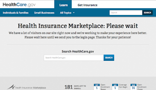 Obamacare 'Glitches' Blamed On High Volume