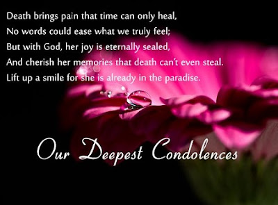 Deep Condolence Quotes For Whatsapp