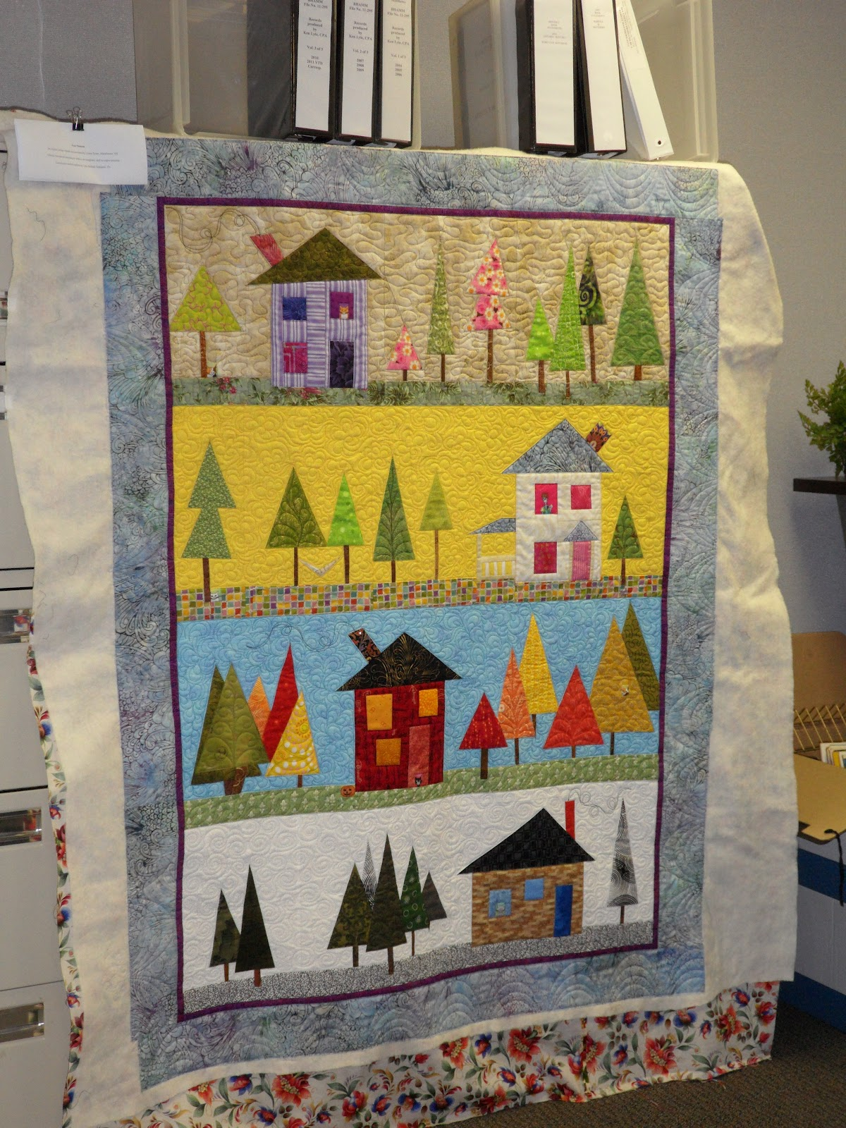 The Patchery Menagerie: Four Seasons Quilt