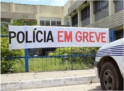 Brasil: Oficiais da Polícia Militar decidem amanhã se aderem à greve na Bahia