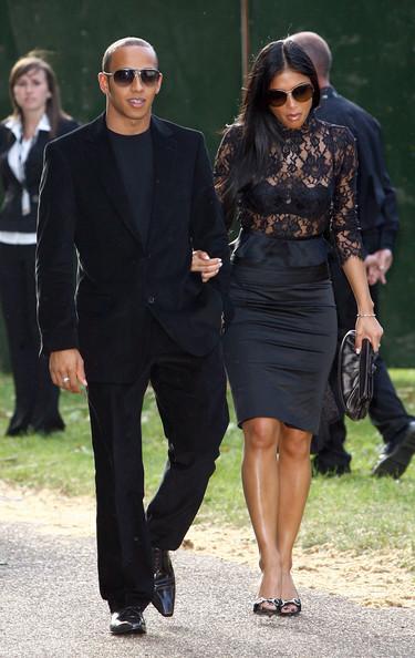 Lewis Hamilton And Nicole Scherzinger Engaged Photos