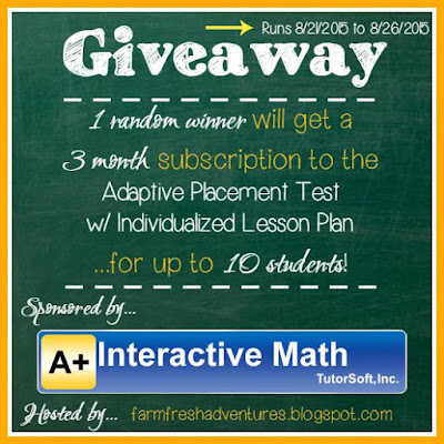 A+ Interactive Math Giveaway