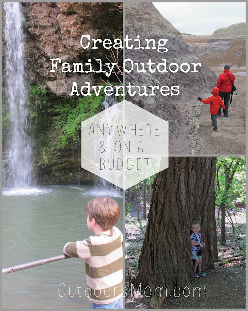 Tips For Creating Family Outdoor Adventures Anywhere & On A Budget