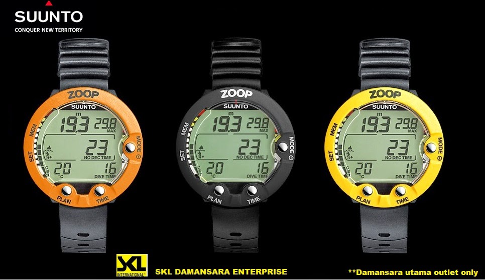 Suunto Zoop Dive computer for recreational divers