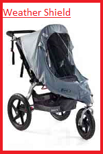 Weather shield u2013 If the sun is beating down on you and your child you need a sun shield to protect your child from excessive glare and heat.  sc 1 th 225 & BOB Revolution Stroller